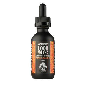 Korova PEACH MANGO Tincture 1,000 mg
