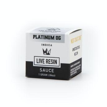 WCC Platinum OG 1g Live Resin Sauce