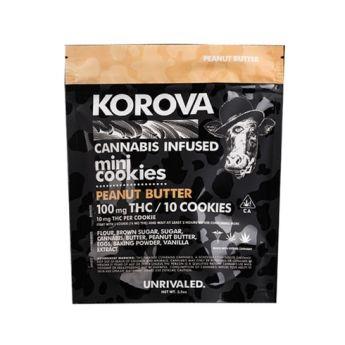 Korova Peanut Butter Mini Cookies
