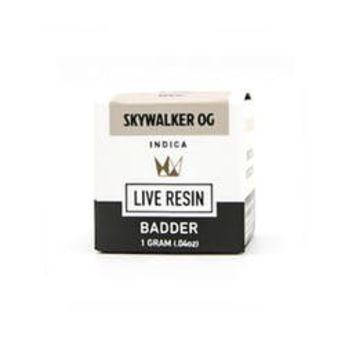 WCC Skywalker OG 1g Live Resin Badder
