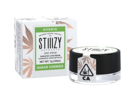 Sugar Cookies Curated Live Resin Extract (1g Stiiizy)