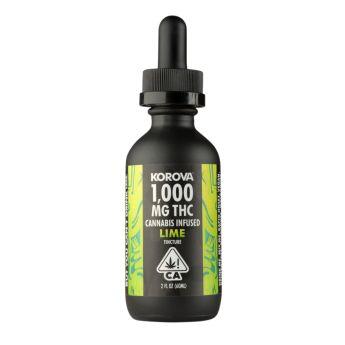 Korova LIME Tincture 1,000 mg