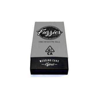 Sublime Wedding Cake Hybrid 3 Pack Pre Rolls (Mini Fuzzies) (THC 26.31%)