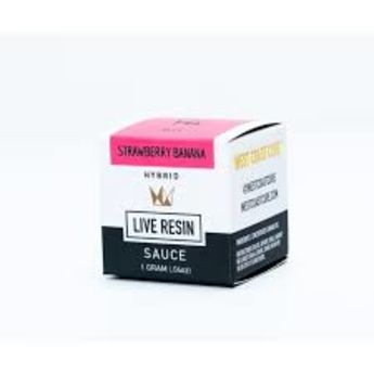WCC Strawberry Banana 1g Live Resin Sauce