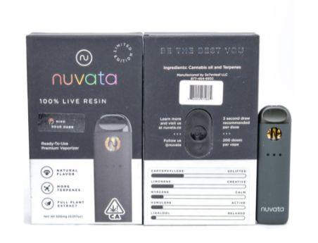 Nuvata Mind Balance Sour Dubb .5g Live Resin (THC 72.04%)