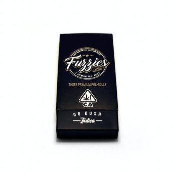 Sublime OG Kush Indica 3 Pack Pre Rolls (Mini Fuzzies) (THC 32.73%)